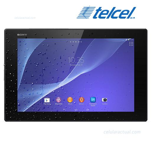 Sony Xperia Z2 Tablet LTE  México con Telcel