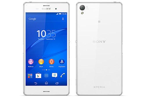 Sony Xperia Z3 pantalla y cámara G Lens