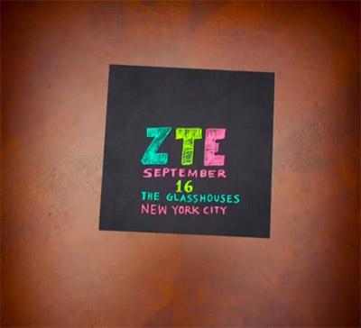 ZTE Vine 16 de septiembre evento
