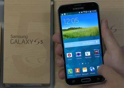 Android L en Galaxy S5