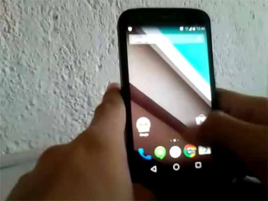 Android L en Moto G