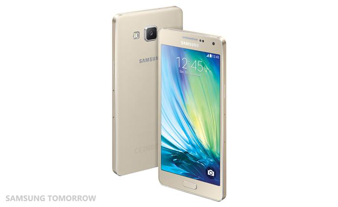 Samsung Galaxy A5 color Champagne