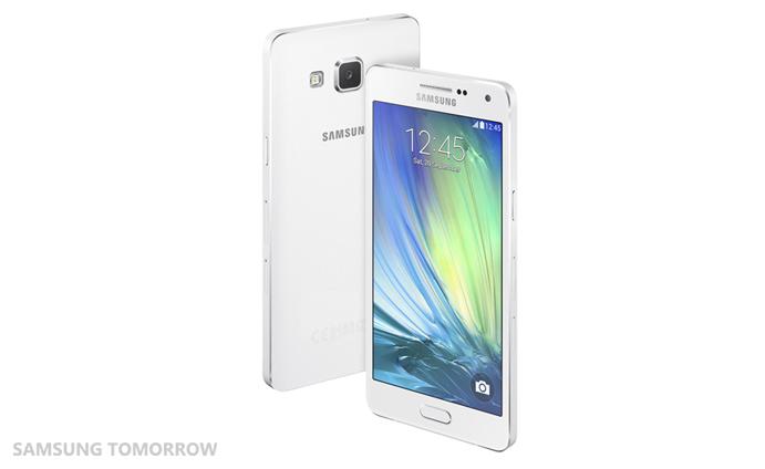 Samsung Galaxy A5 color blanco cámara posterior y pantalla HD