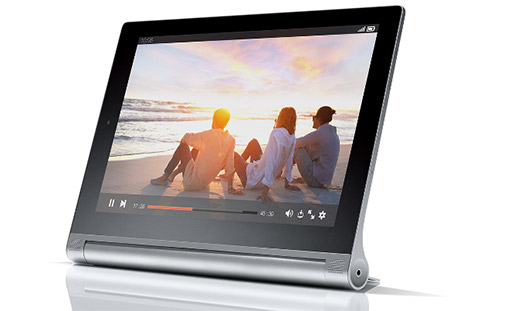 Lenovo Yoga Tablet 2  en video player