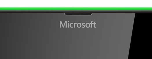 Logo Microsoft en teléfonos