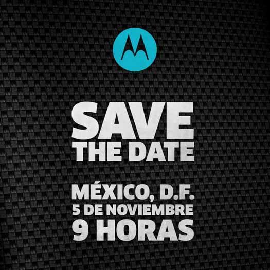 Invitación Motorola México