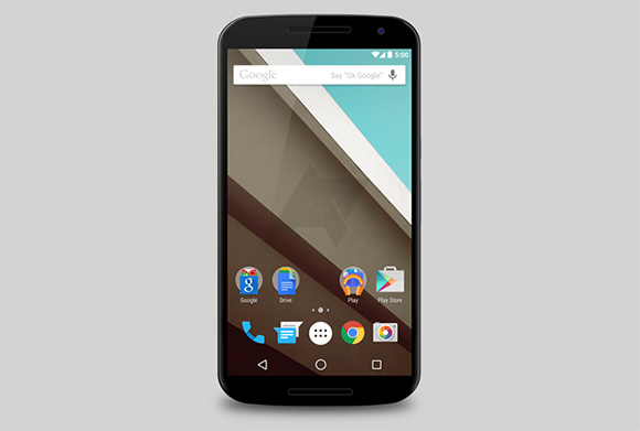 Nexus 6 interfaz de usuario Android L