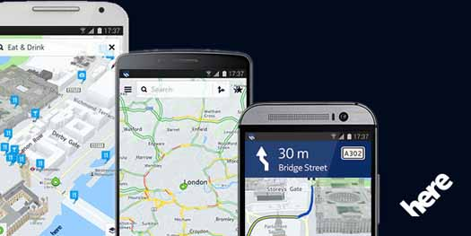 Nokia Here en Android