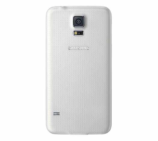 Samsung Galaxy S5 Plus reverso