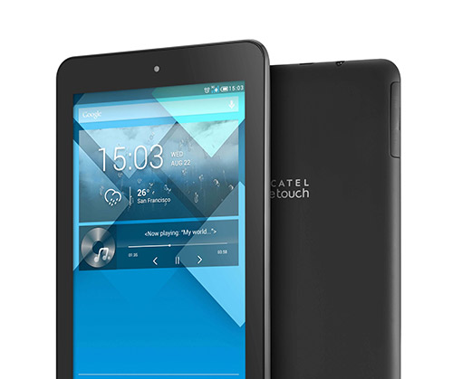 Alcatel One Touch Pop 7 un tablet 3G pronto en México con Telcel