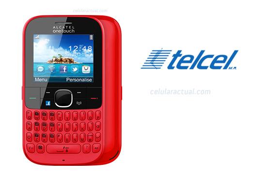 Alcatel One Touch 3075 Tribe en México con Telcel