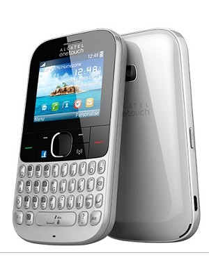 Alcatel One Touch 3075 Tribe en México con Telcel color blanco