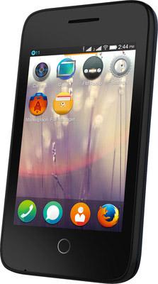 Alcatel Fire C 2G 4020D pantalla de 3.5 pulgadas de lado