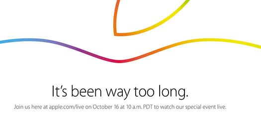 Apple evento 16 de octubre 2014