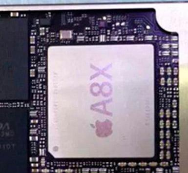 El iPad Air 2 chip A8X