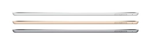 Apple iPad Air 2 oficial delgada