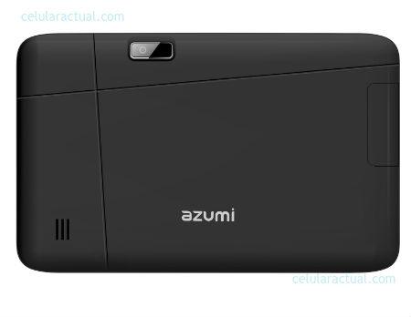 Azumi Arkía AT7 3G en México con Telcel posterior cámara color negro