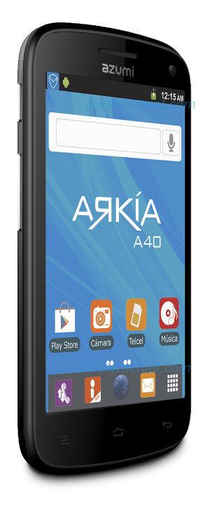 Azumi A40 un Android Dual Core en Telcel