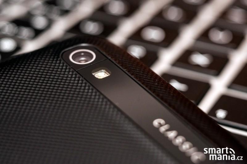 El BlackBerry Classic cámara trasera con flash