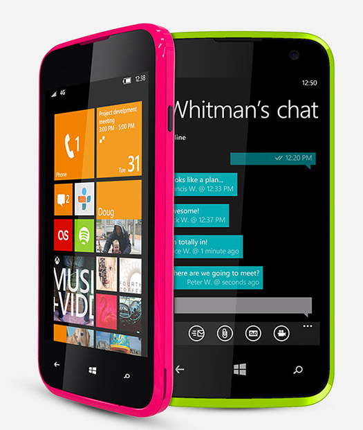 Blu Win JR con Windows Phone 8.1 en México