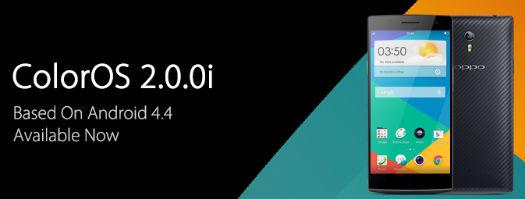ColorOS 2.0 basado en Android 4.4 KitKat