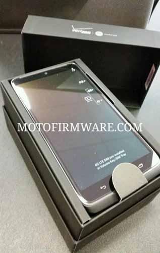Motorola Droid en caja de venta|