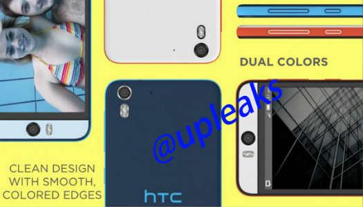 HTC Desire Eye colores
