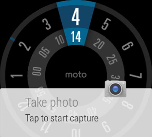 Cámara de Motorola control remoto