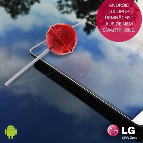 Update Android 5.0 Lollipop en LG