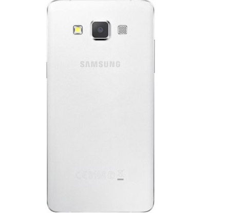 El Samsung Galaxy S5 renders imágenes oficiales color blanco cámara trasera de 13 MP