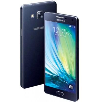 """El Samsung Galaxy S5 renders imágenes oficiales color azul pantalla de 5"""" HD de lado y cámara trasera"""