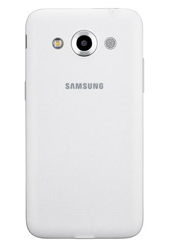 Samsung Galaxy Core Max  Dual SIM  cámara posterior de 8 MP y Flash LED