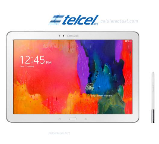 Samsung Galaxy Note Pro 4G SM-P905 en México con Telcel Logo