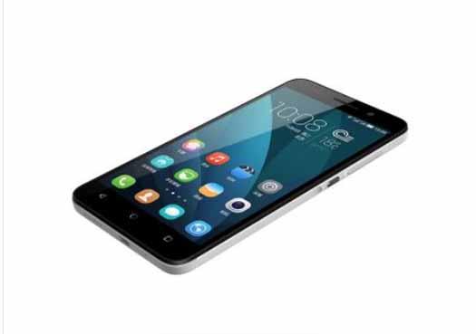 Huawei Honor 4X de perfil