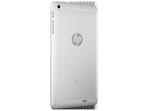 HP 7 G2 tablet cámara posterior perfil derecho