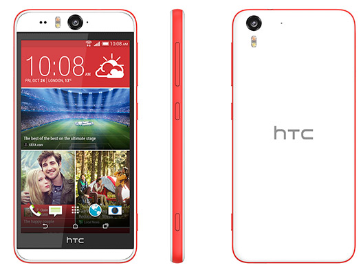 HTC  Desire Eye color blanco y rojo