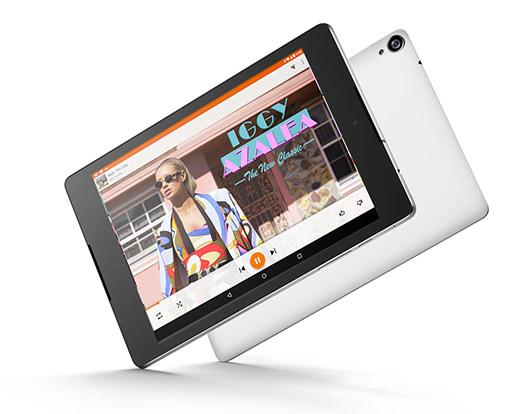 HTC Nexus 9 Oficial pantalla y reverso
