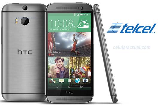 HTC One M8 con Telcel en México