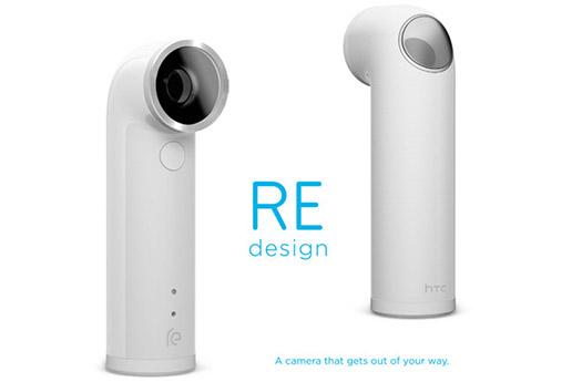 HTC Re Camera oficial diseño