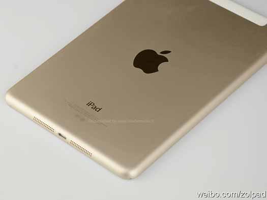 iPad Air 2 dorada