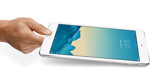 Apple iPad mini 3 con sensor Touch ID y pantalla reinta
