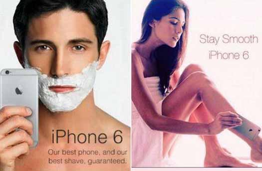 Meme iPhone 6 Hairgate