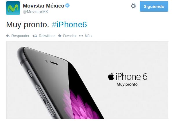 iPhone 6 muy pronto en México