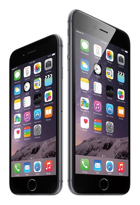 iPhone 6 Plus y iPhone 6 de Apple