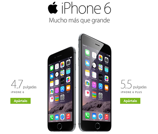 Movistar México preventa para el iPhone 6 y iPhone 6 Plus