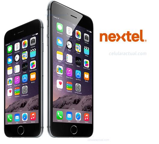 iPhone 6 y iPhone 6 Plus Nextel