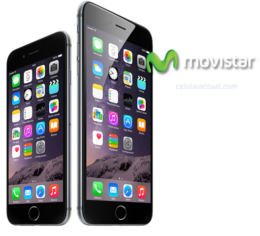 iPhone 6 en Movistar México Logos