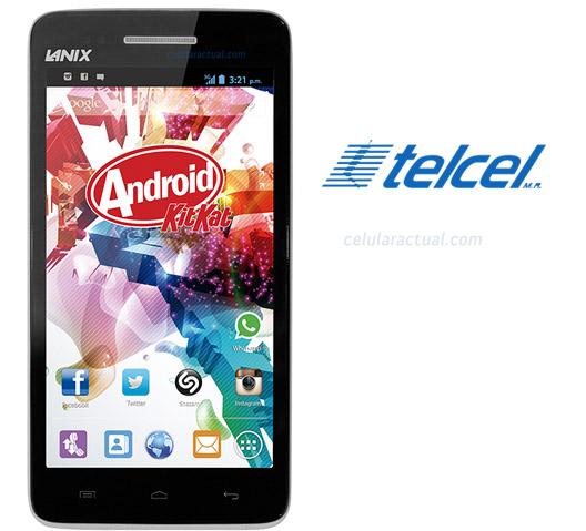 El Lanix Ilium S620 en México con Telcel