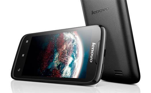 Lenovo A369i en México pantalla y cámara