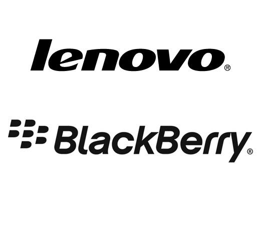 Lenovo BlackBerry Logos